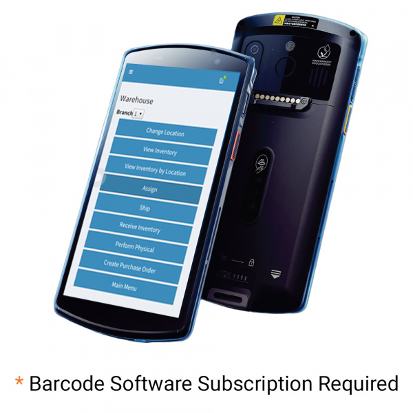 Android D50 Wireless Barcode Scanner