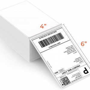 MUBYN Thermal Shipping Labels